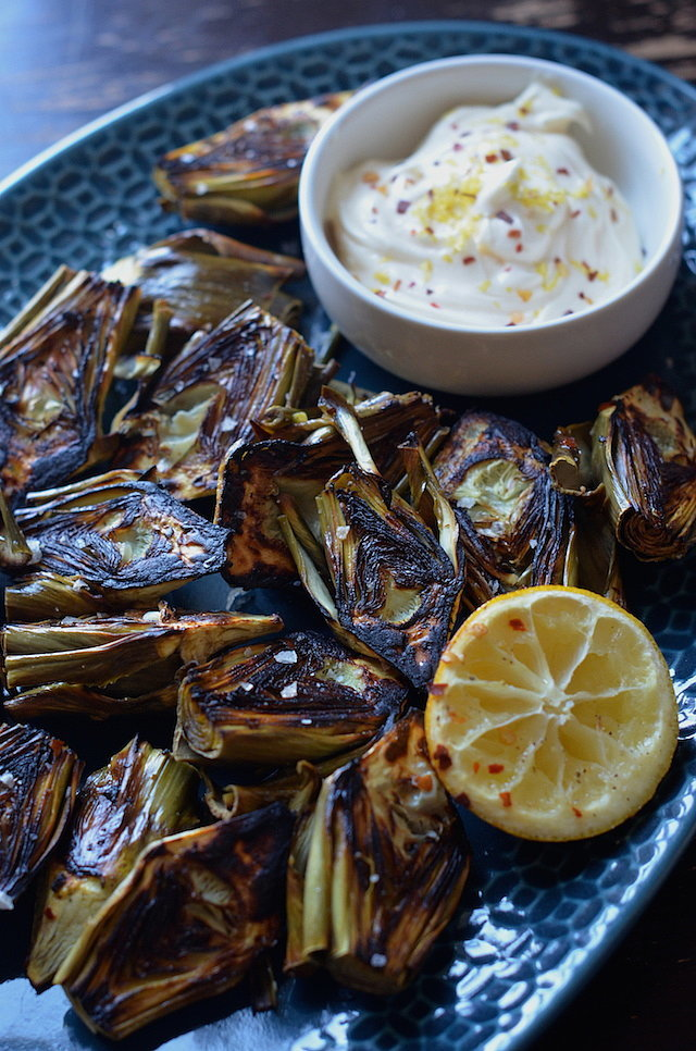 Low-Fuss, High-Reward Roasted Baby Artichokes